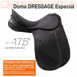 SILLA ZALDI DOMA DRESSAGE ESPECIAL 17.5 NEGRO
