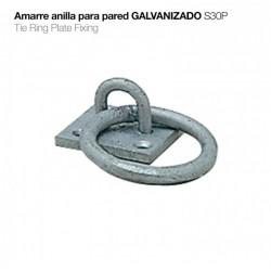 AMARRE ANILLA PARED GALVANIZADO S30P