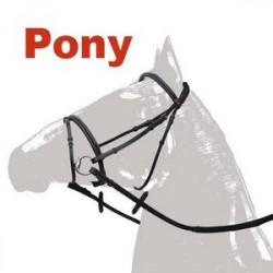 Cabezada Montar Combinada Ss Pony Marron
