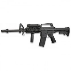 Arma Larga Airsoft De Aire Suave Cyma Mini