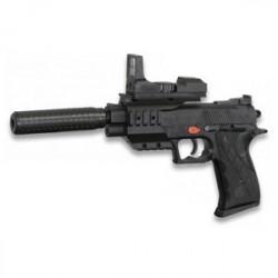 Pistola De Aire Suave Cyma Con Silenciador, Ideal Airsoft