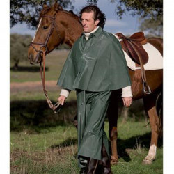CAPOTE PARA MONTAR IMPERMEABLE VERDE