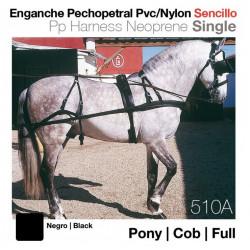 ENGANCHE PECHOPETRAL PVC/NYLON SENCILLO